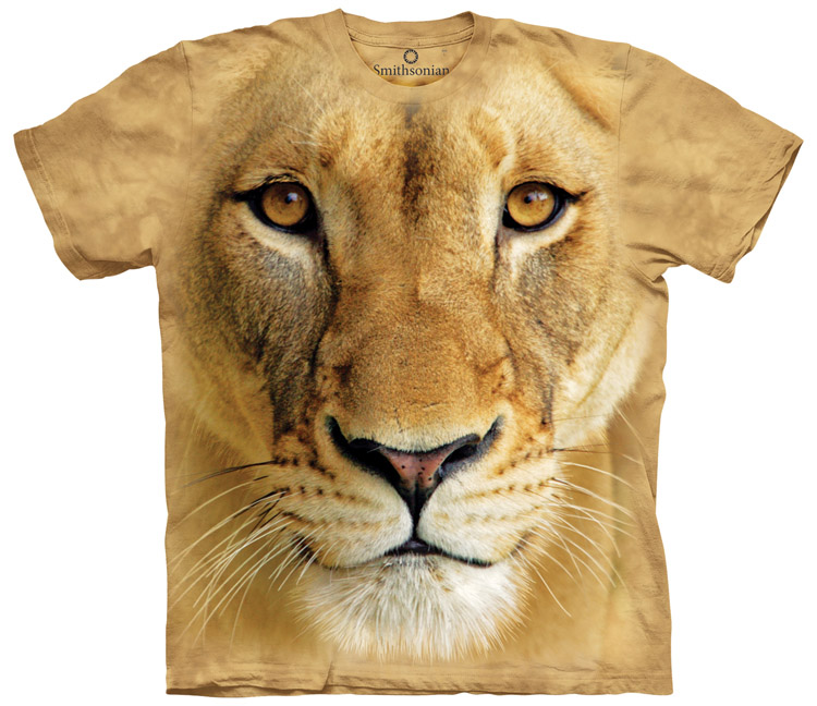 Big Face Zoo Animal S-XL Aggressive Panther Kids T-Shirt by The Mountain