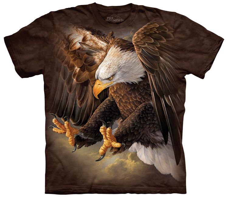 Soaring Spirit T-Shirt by The Mountain Flying Eagle Sizes S-5XL NEW