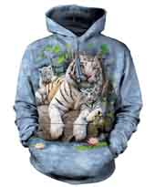 White Tigers Of Bengal Hoodie