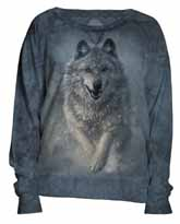 Wolves Plow Slouchy Crew