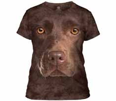 Chocolate Lab Face Women's T-Shirt