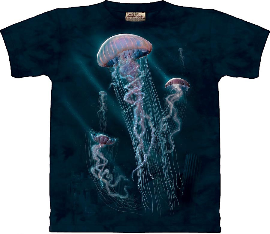 f0c1d5ca6 T-Shirts With Jellyfish, Octopus, Seahorse & Stingrays | Nature's ...