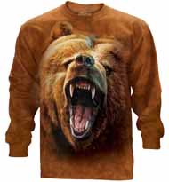 Grizzly Growl Long Sleeve T-Shirt