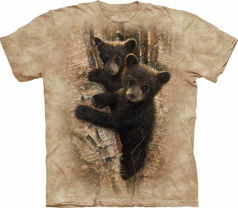 Black Bear Family Kids T-Shirt by The Mountain Sizes S-XL Youth NEW