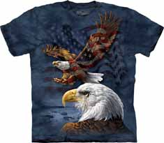 Eagle Flag Collage T-Shirt