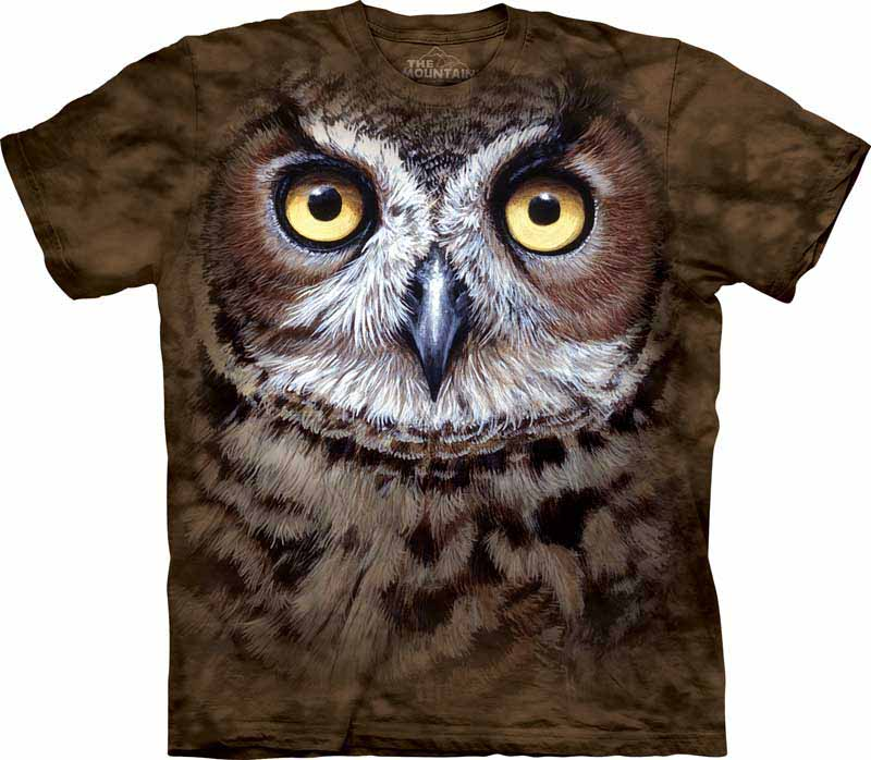 f97714024 Owl T Shirts • Great Horned Owls • Snowy Owls | Nature's Habitat